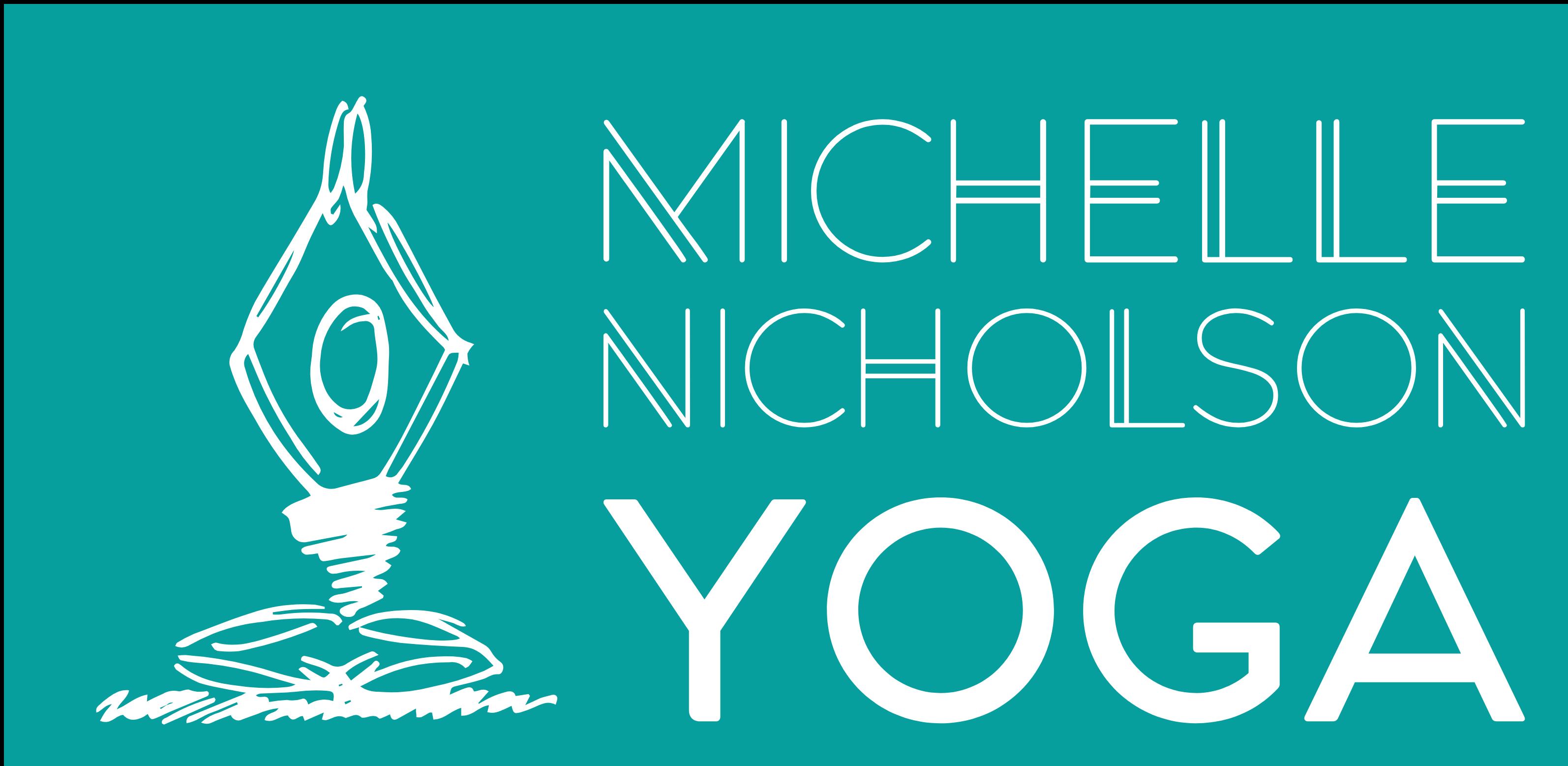Michelle Nicholson Yoga Logo