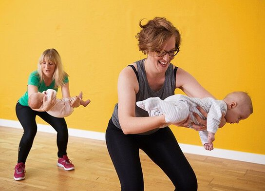 Picture of Toddler and Baby Classes.